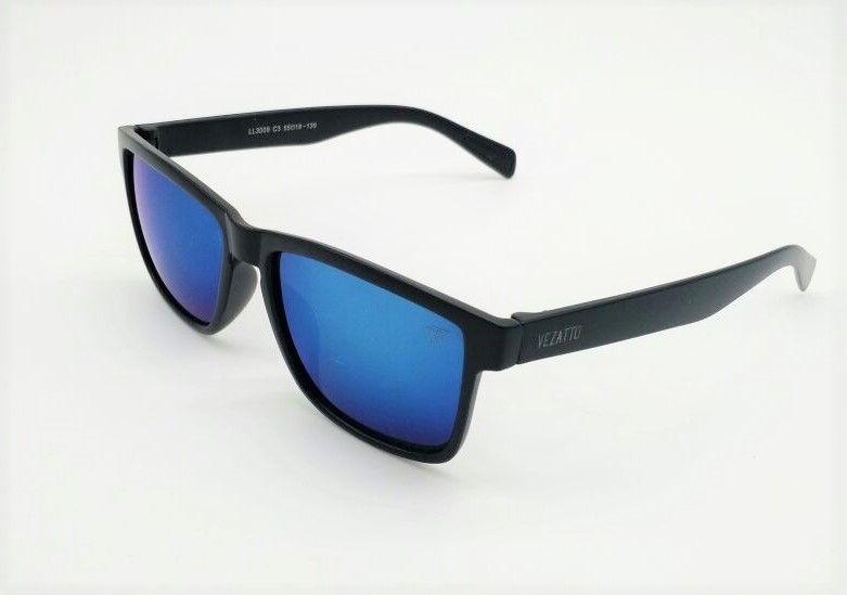2229176e88180 Óculos De Sol Masculino Vezatto Espelhado Azul Ll3009 C3 - R  120,00 ...