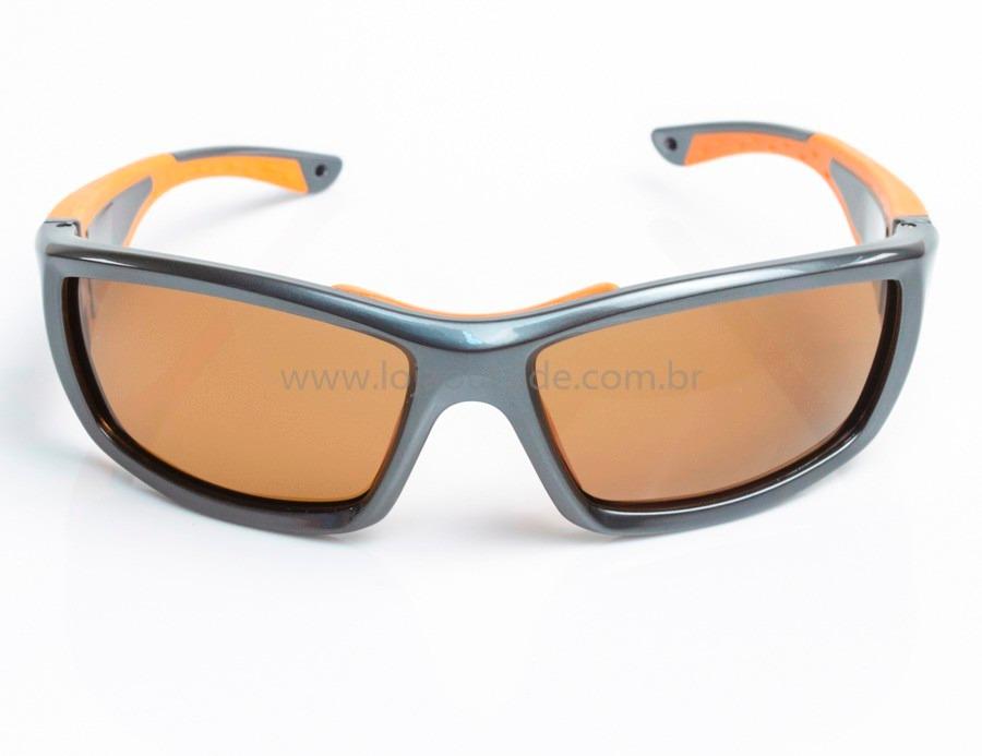 a1b80441fff52 óculos de sol maui fun dive flutuante - cinza com laranja. Carregando zoom.