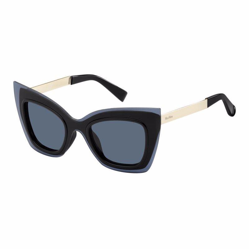 cef0faeff Óculos De Sol Max Mara Mm Overlap D51ku - R$ 1.180,00 em Mercado Livre