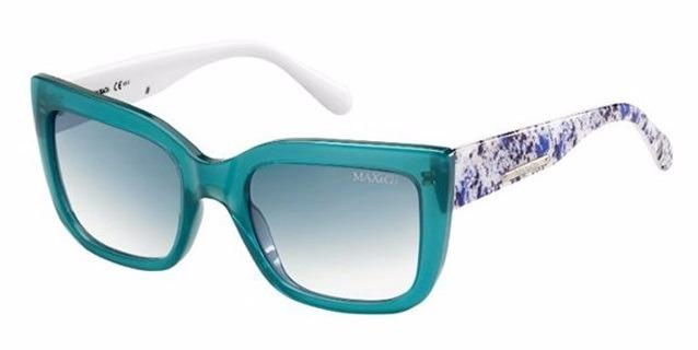 Óculos De Sol Max co. 248s - Transparent Green Colored Fant - R  440 ... 26e87883ed