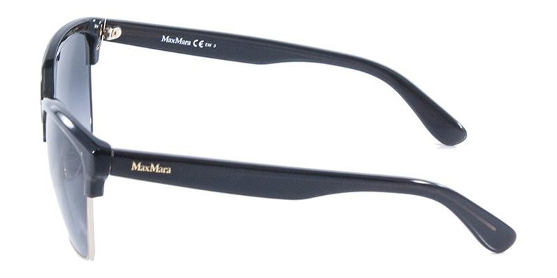 Óculos De Sol Maxmara Cmaster Preto Com Ouro - R  379,99 em Mercado ... 8ede8658ed