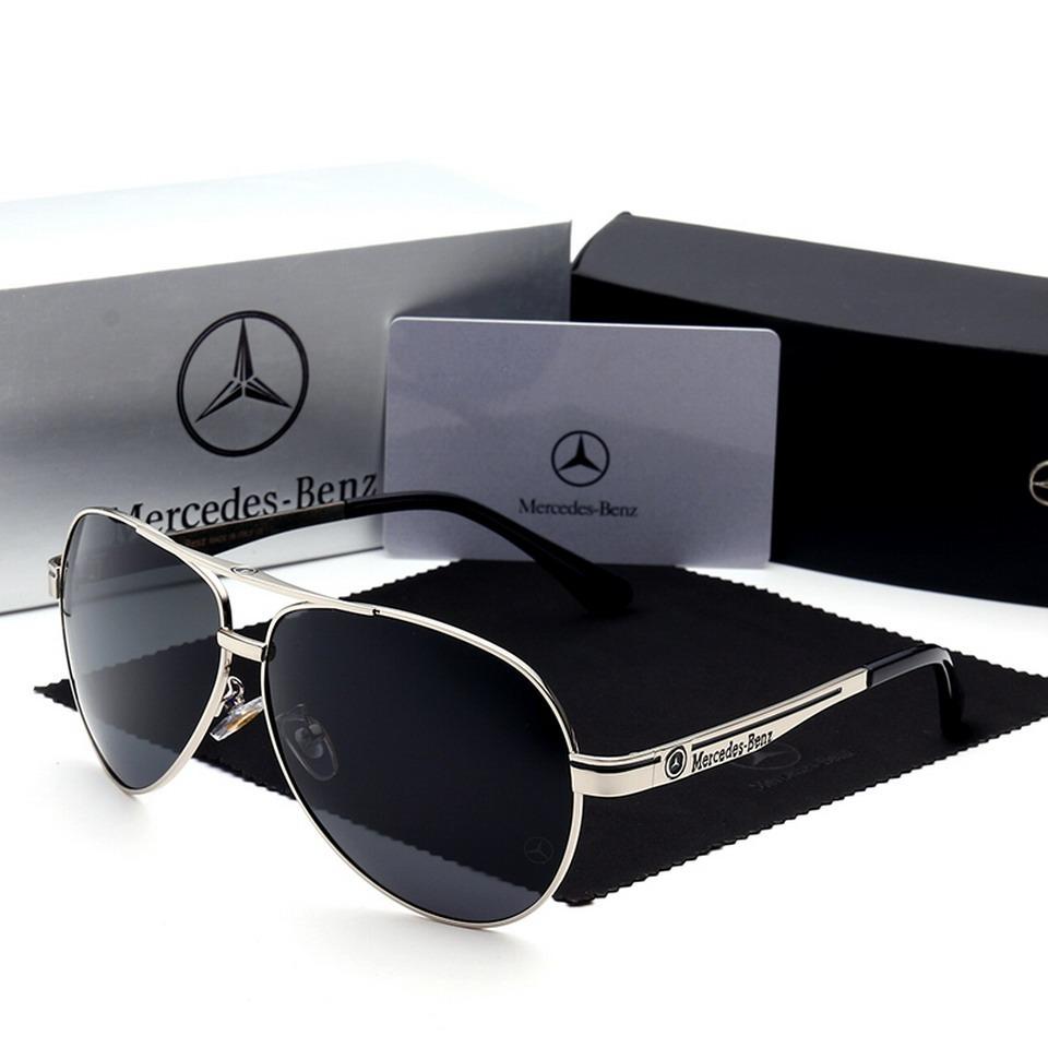 óculos de sol mercedes benz metal polarizado uv400 luxo §. Carregando zoom. 962c549091