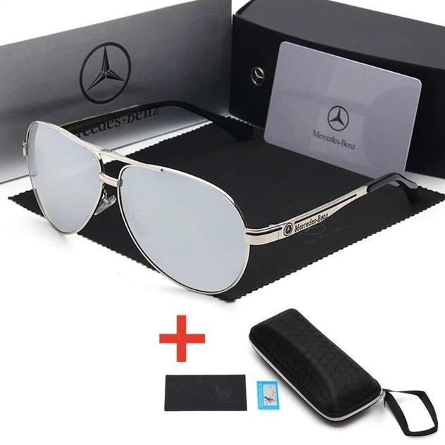 b6d5d9337 Óculos De Sol Mercedes-benz Metal Polarizado Uv400 Luxo - - R$ 224 ...