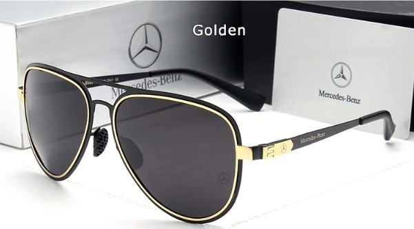 Óculos De Sol Mercedes Benz Metal Polarizado Uv400 Luxo - R  189,00 ... cc1a08d9af