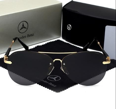 9b11ab8fda23e Óculos De Sol Mercedes- Benz Original Lentes Polarizadas - R  219,90 ...