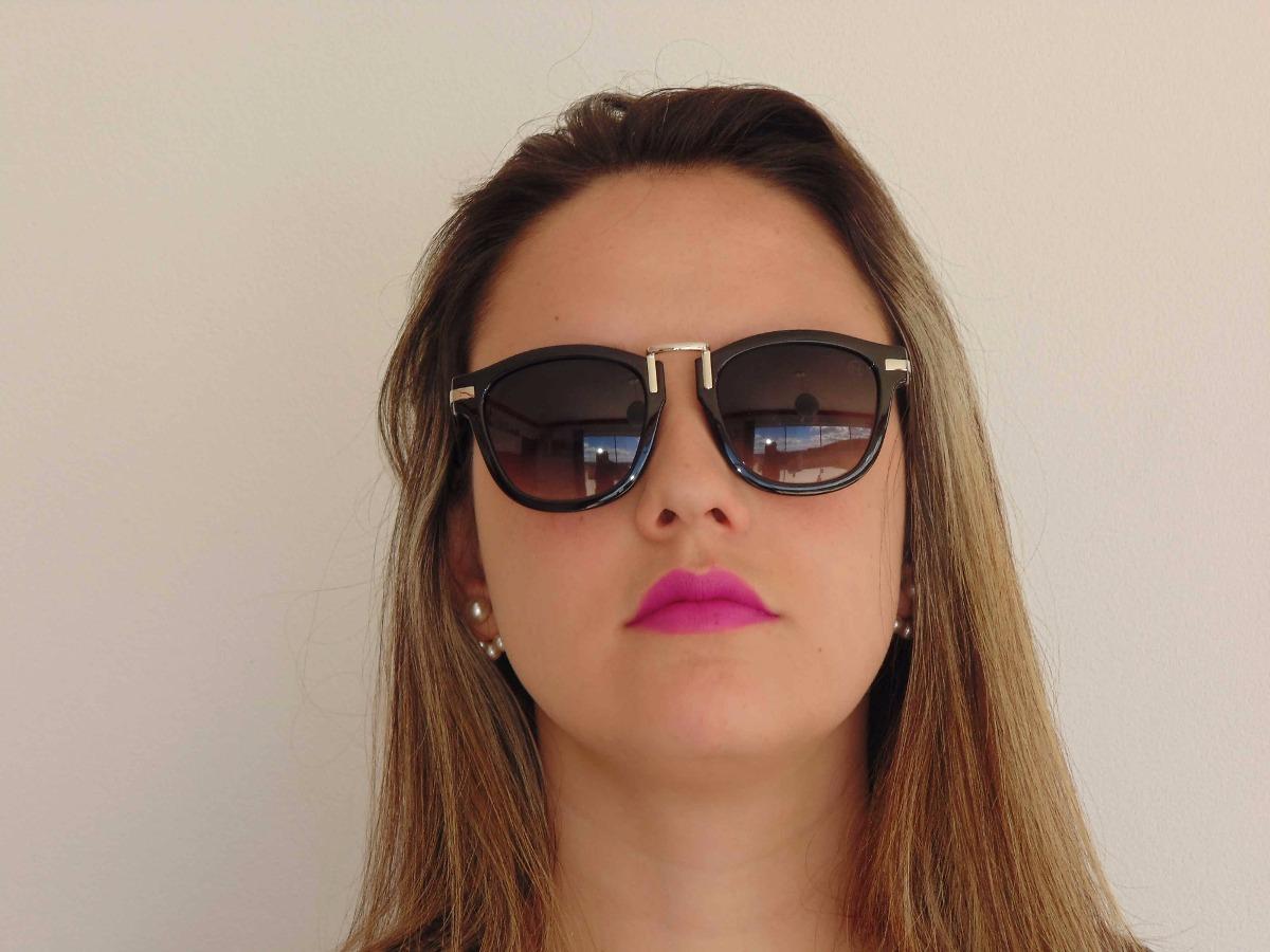 56119dd6c2574 Óculos De Sol Miami Diva Modelo - Buena Vista - - R  169