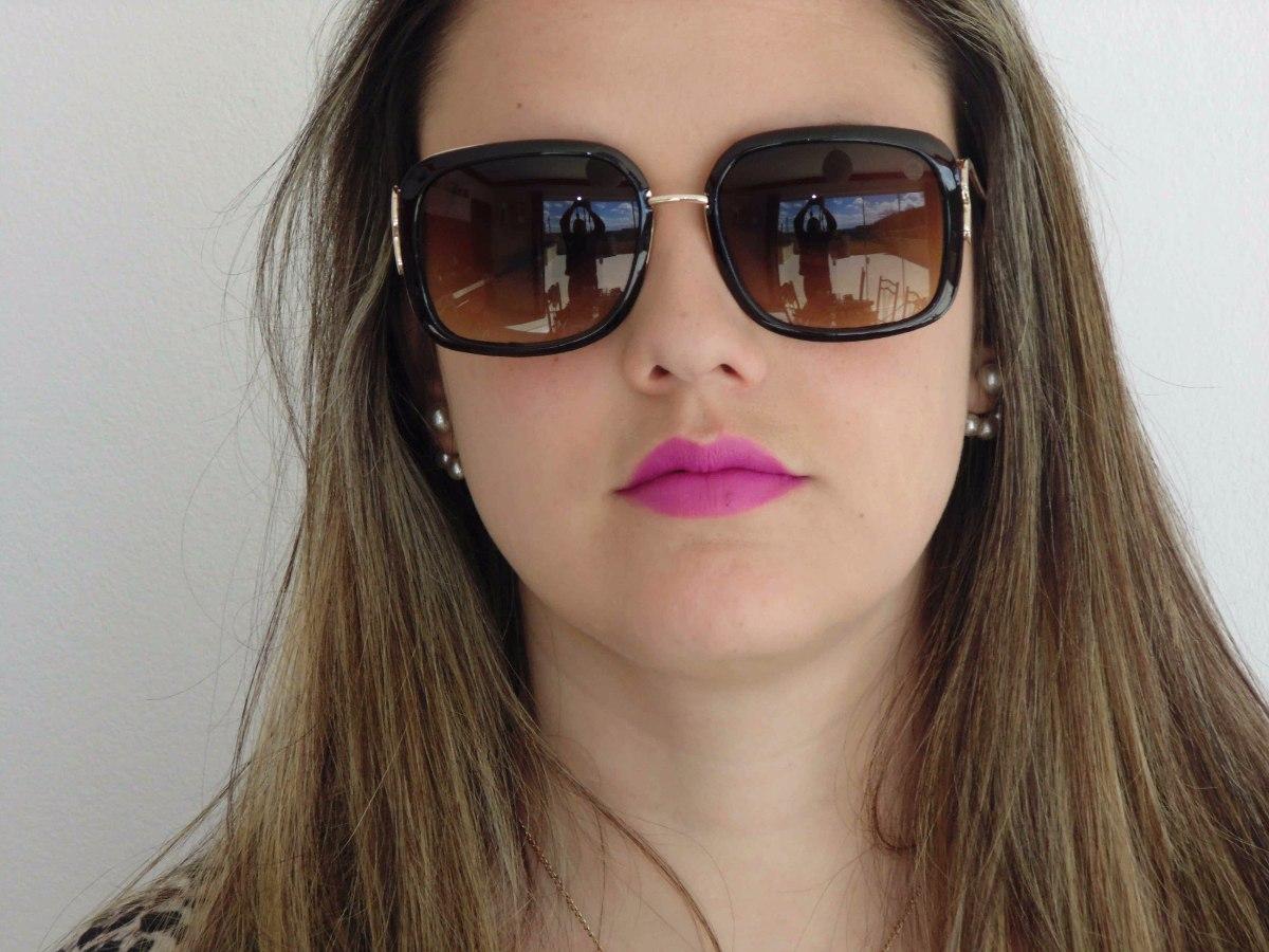f9384db8d7ab6 Óculos De Sol Miami Diva Modelo - Downtown Miami - - R  169