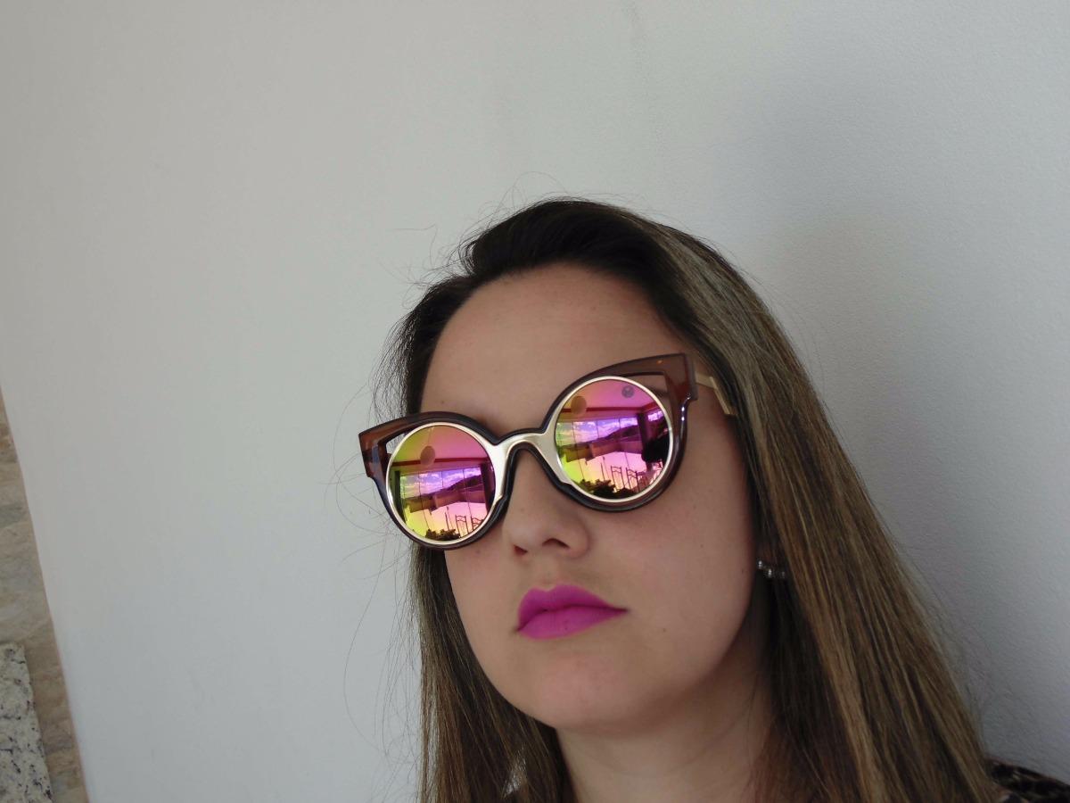 eba52240cdcd9 Óculos De Sol Miami Diva Modelo - Miami Beach - - R  169