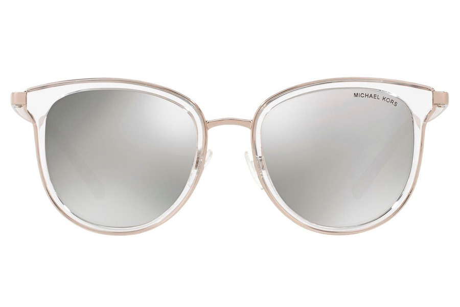 7d25e1e7b óculos de sol michael kors mk1010 11026g/54 transparente/pra. Carregando  zoom.