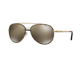 640982e06 Oculos Michael Kors Dourado Estilo Aviator De Sol - Óculos no Mercado Livre  Brasil