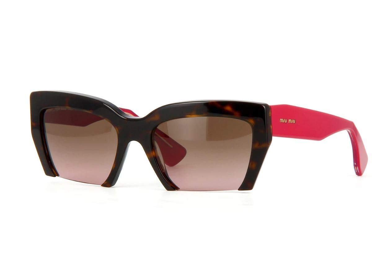 baf5868fc2cbf Óculos De Sol Miu Miu Mu11os 2au5p1 - R  1.075,00 em Mercado Livre