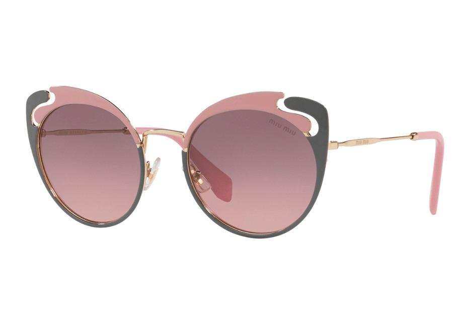 e38f67d6f1f70 Óculos De Sol Miu Miu Mu57ts M1r146 - R  1.288,00 em Mercado Livre