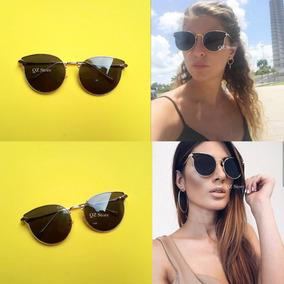 d4542535b Óculos De Sol Miu Mui Gatinho Inspired Blogueiras Fashion