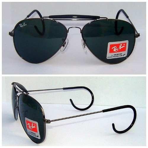 Óculos De Sol Modelo Caçador 3030 Com Mola Na Hastes - R  250,00 em ... f6f028173e