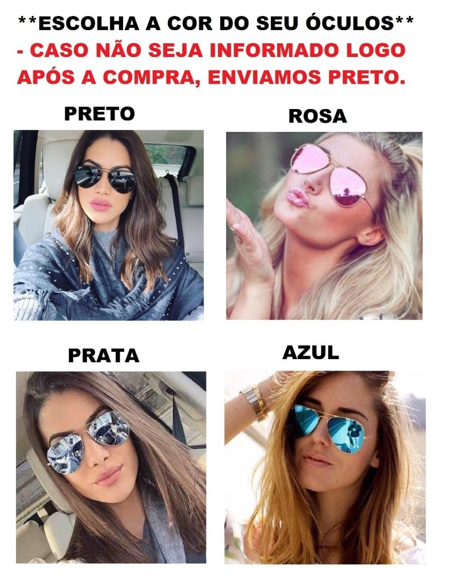 óculos de sol modelo de praia coleção 2019 aviador feminino. Carregando  zoom. 35db812515