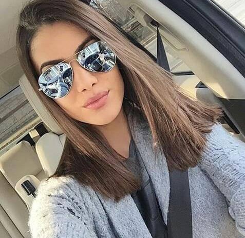 Óculos De Sol Modelo De Praia Coleção 2019 Aviador Feminino - R  39 ... 89aa0575af