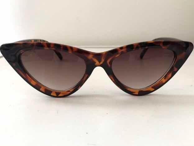 Óculos De Sol Modelo Gatinho Marrom Leopardo Blogueira - R  69,90 em ... b79da68fcf