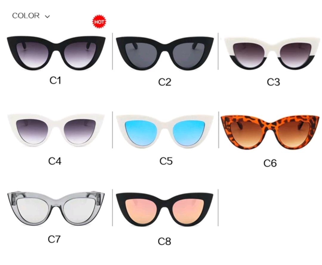 4356b0c4e Óculos De Sol Modelo Gatinho Retro Uv400 - R$ 36,00 em Mercado Livre