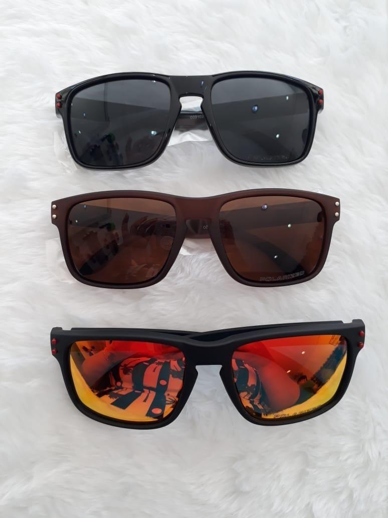 0723f580e óculos de sol modelo polarizado quadrado masculino espelhado. Carregando  zoom.