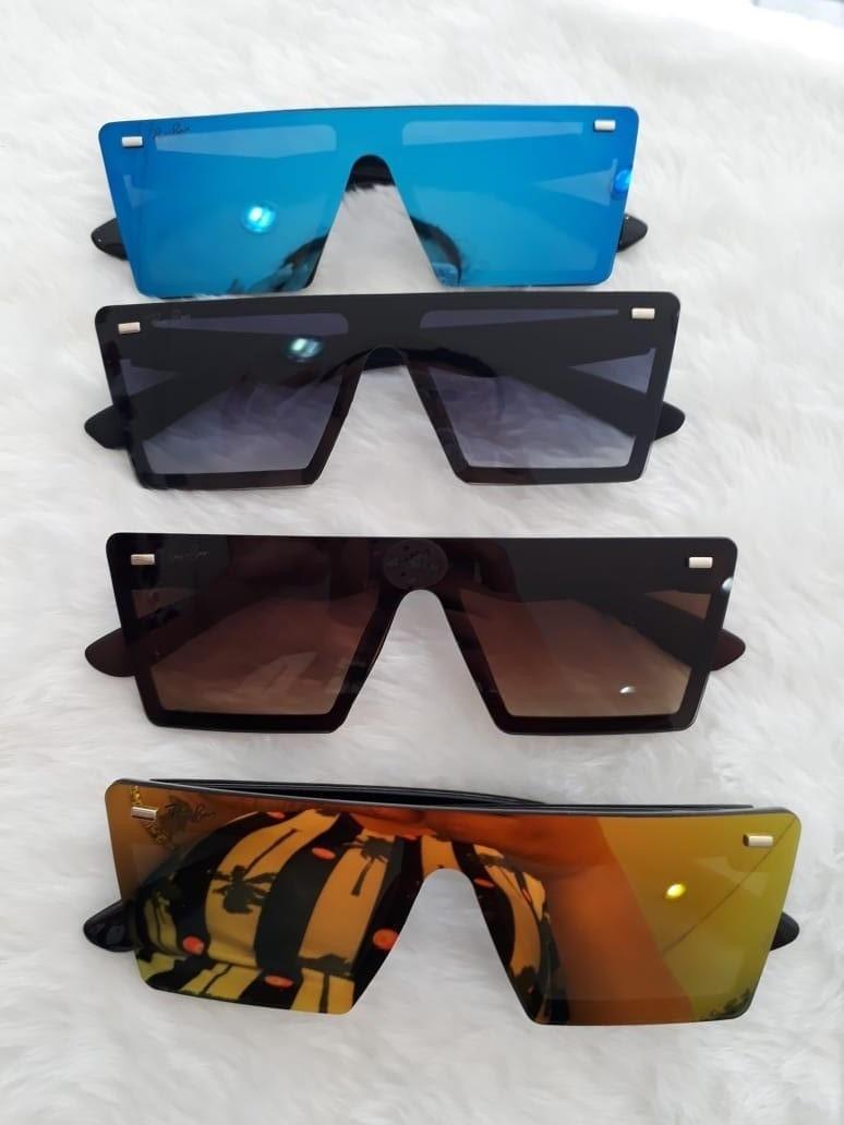 d6bf39bc9a8e7 óculos de sol modelo tipo máscara unissex espelhado. Carregando zoom.