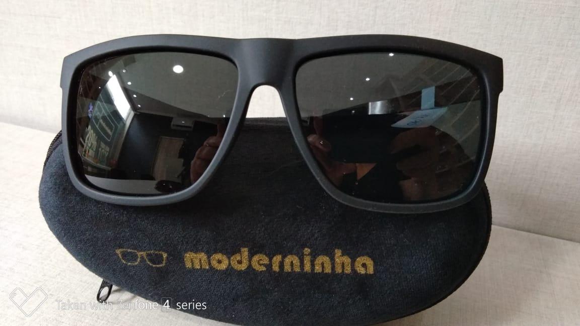 5e7cc3f96bb2d Óculos De Sol Moderninha - R  99