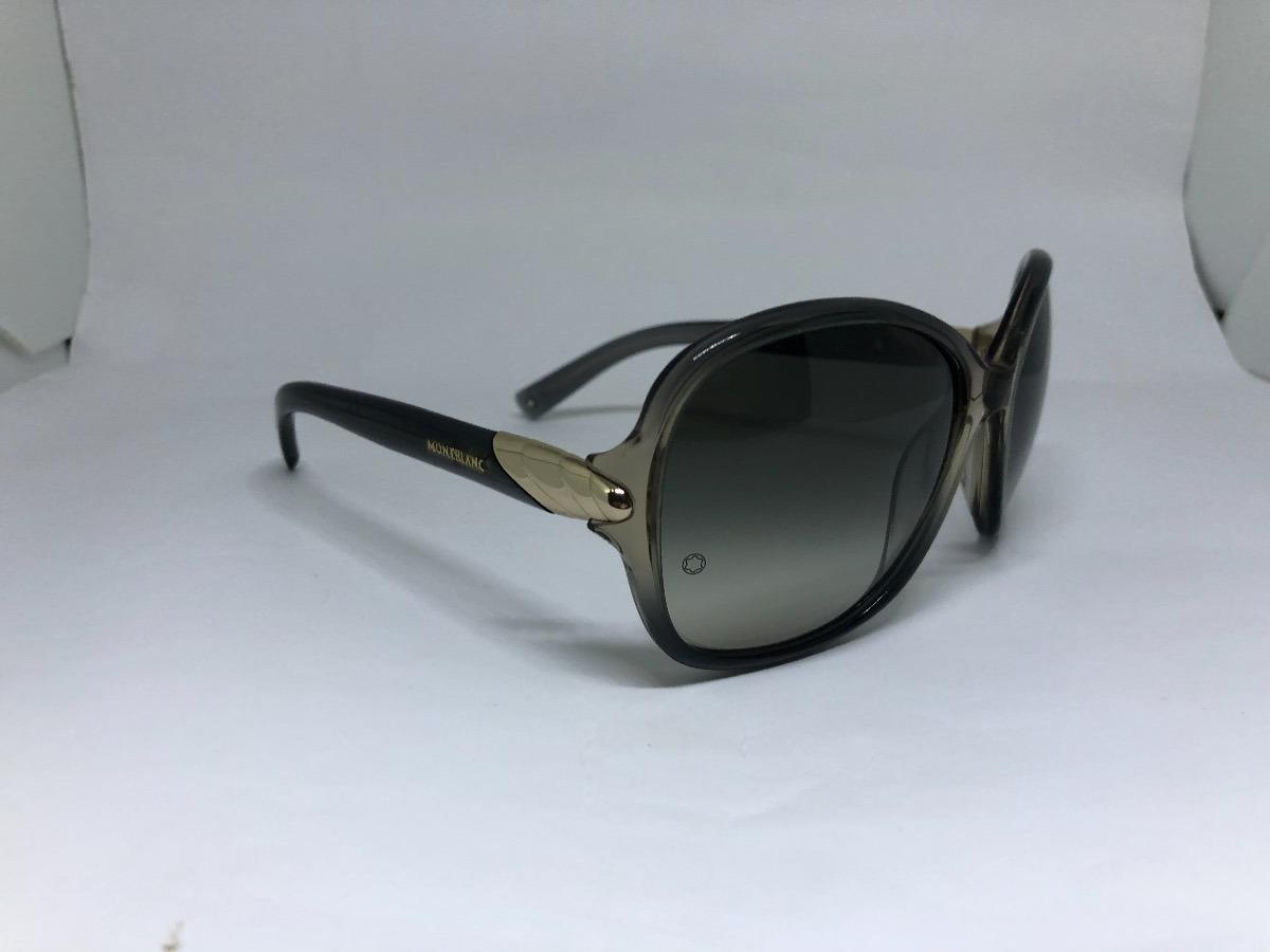 Oculos De Sol Mont Blanc Luxo E Sofisticacao Mb412 - R  780,00 em ... e35600b5e2