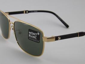 eb6389c4e Montblanc Óculos De Sol Masculino no Mercado Livre Brasil