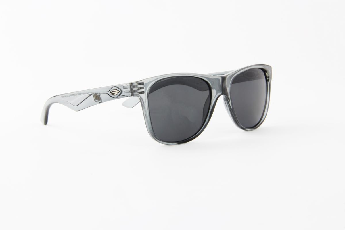 9d0581f52ca88 óculos de sol mormaii acetato cinza transparente lente preta. Carregando  zoom.