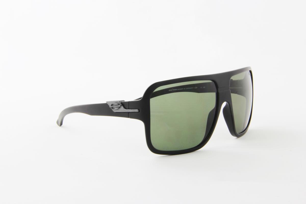 4bb57ae42eb8d óculos de sol mormaii acetato preto fosco lente preta. Carregando zoom.