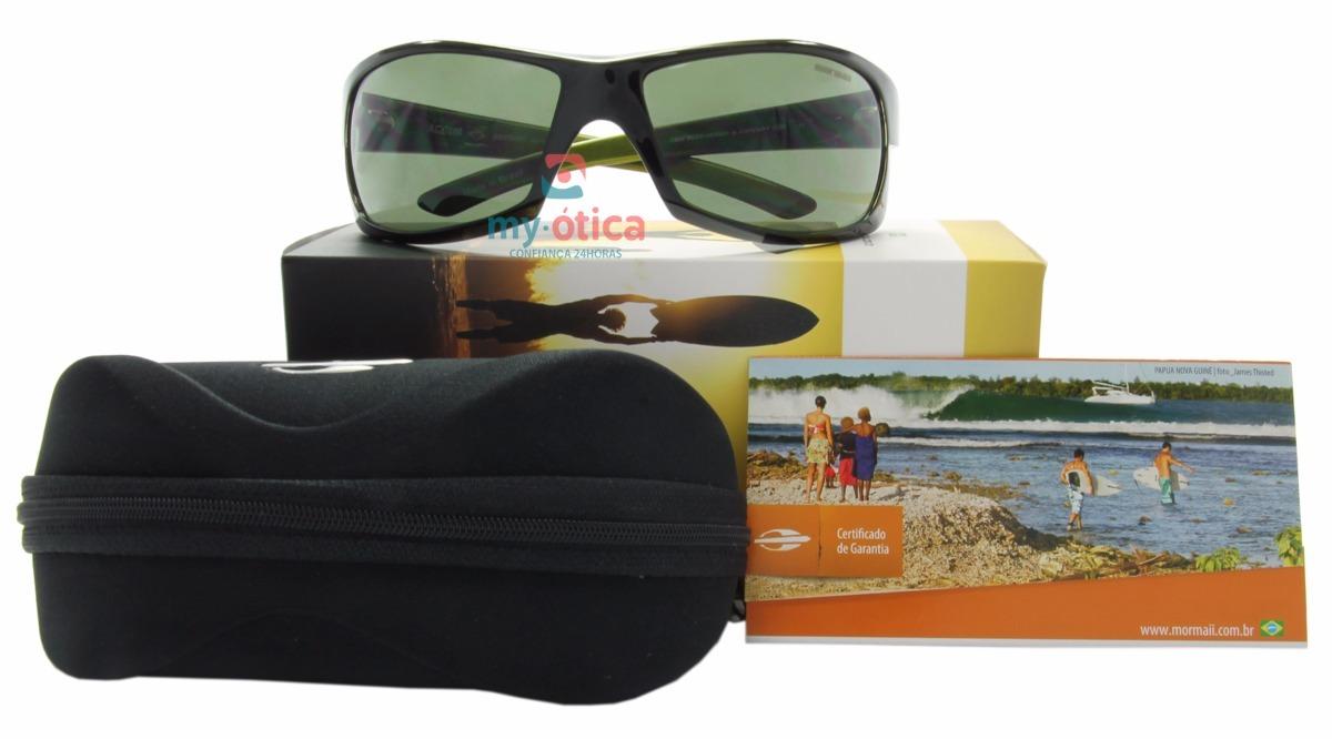 5e34004bb6bec óculos de sol mormaii acqua verde e preto original com nfe. Carregando zoom.