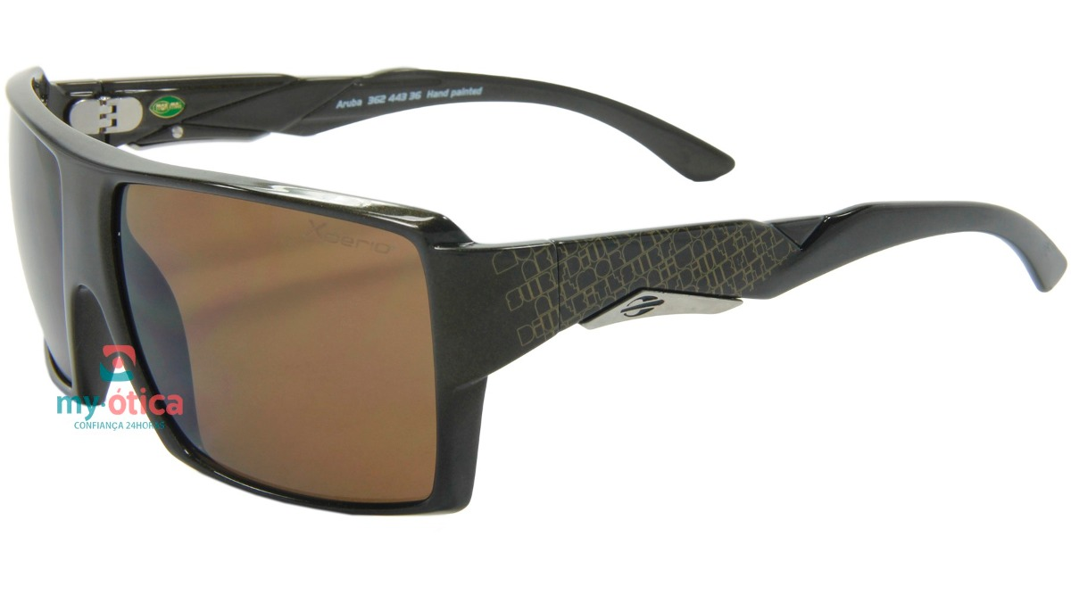 bdc08145f240d óculos de sol mormaii aruba xperio marrom original com nfe. Carregando zoom.