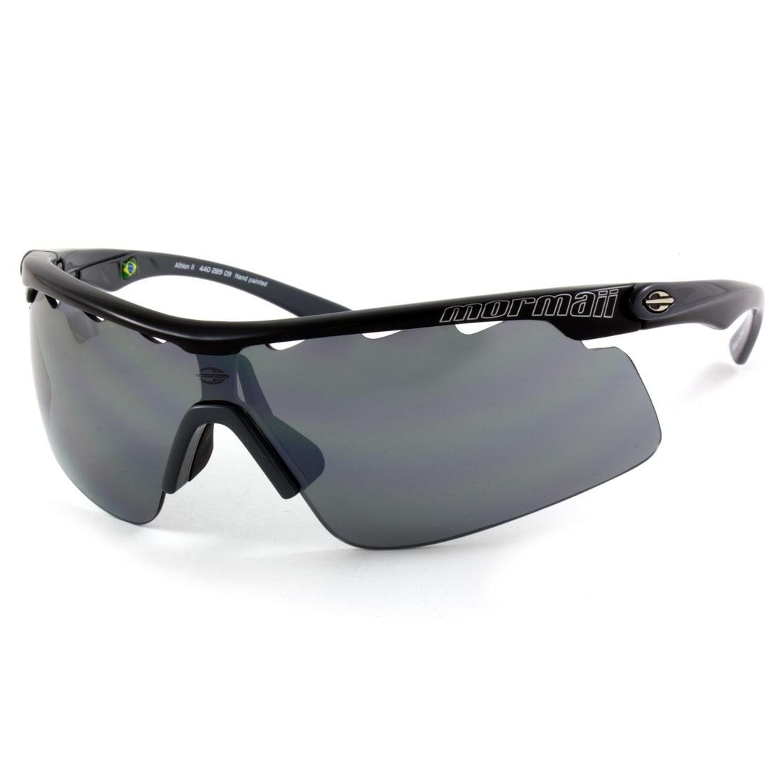 955a933f811fc óculos de sol mormaii athlon 2 440 289 09 - 2 lentes. Carregando zoom.