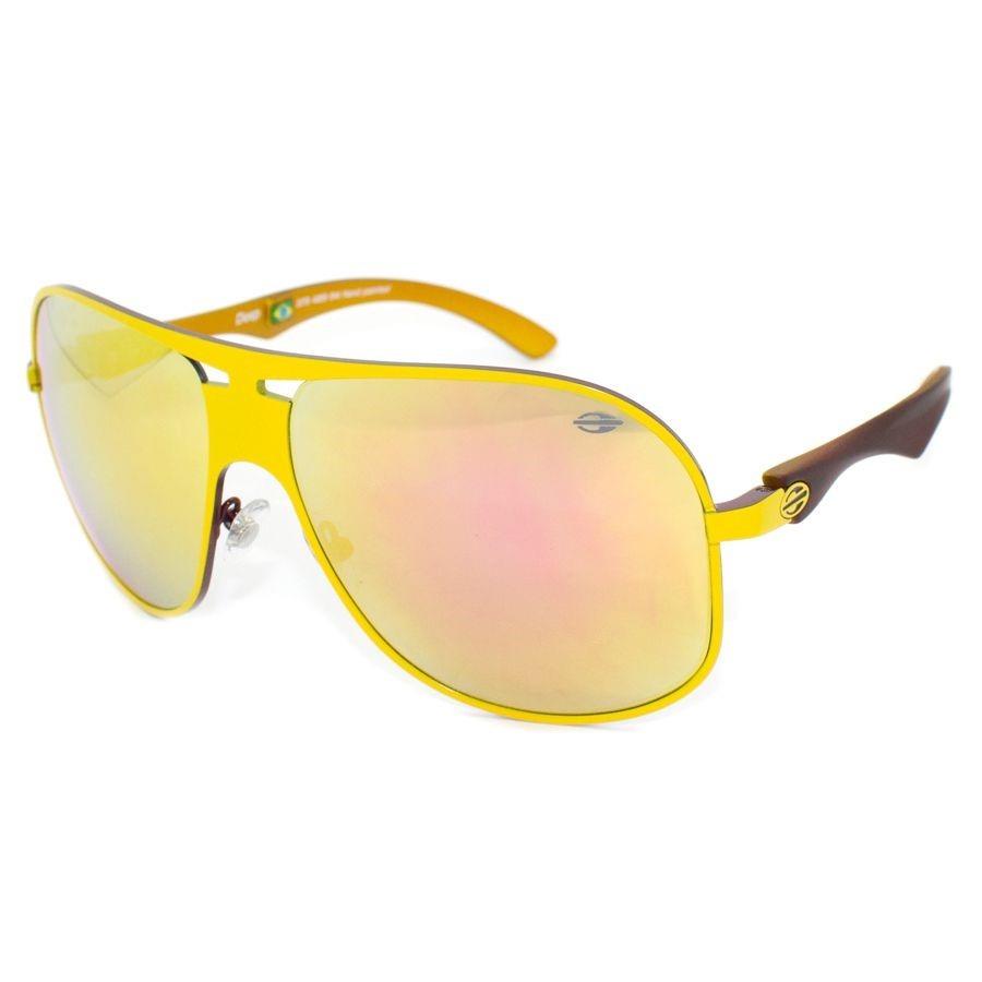 f24039981f279 Óculos De Sol Mormaii Deep Amarelo 373 489 94-frete Grátis - R  199 ...