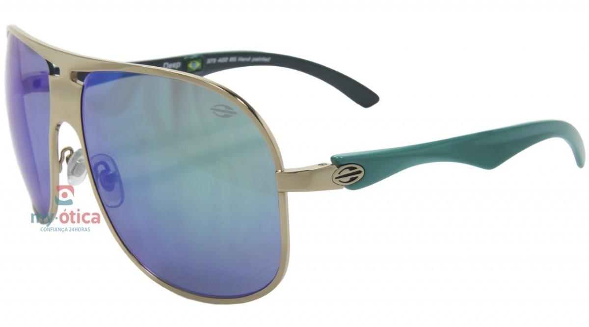 3e803f375c93f Óculos De Sol Mormaii Deep - Bege E Verde Original Com Nfe - R  383 ...