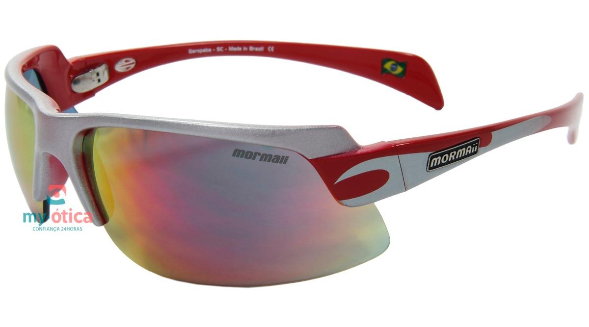óculos de sol mormaii gamboa air 2 prata e original com nfe. Carregando  zoom. 65eb2e4090