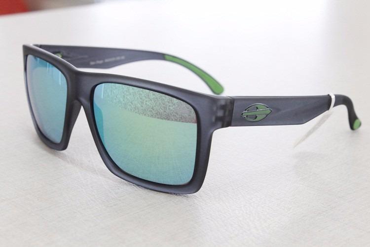 dc63c0182c6ab Oculos De Sol Mormaii San Diego Verde Espelhado Original - R  219