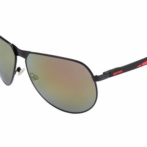 óculos de sol mormaii sun 413 - preto e vermelho 1259/69