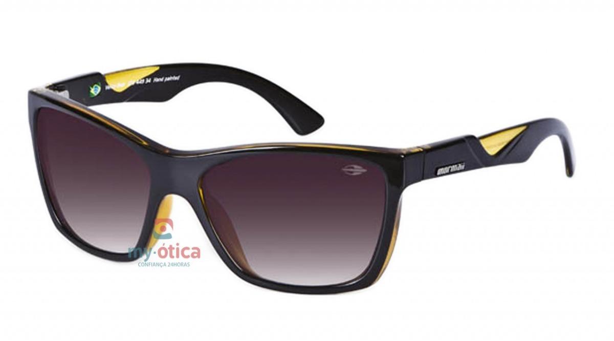 óculos de sol mormaii venice beat - preto e amarelo com nfe. Carregando  zoom. 1961f5900d