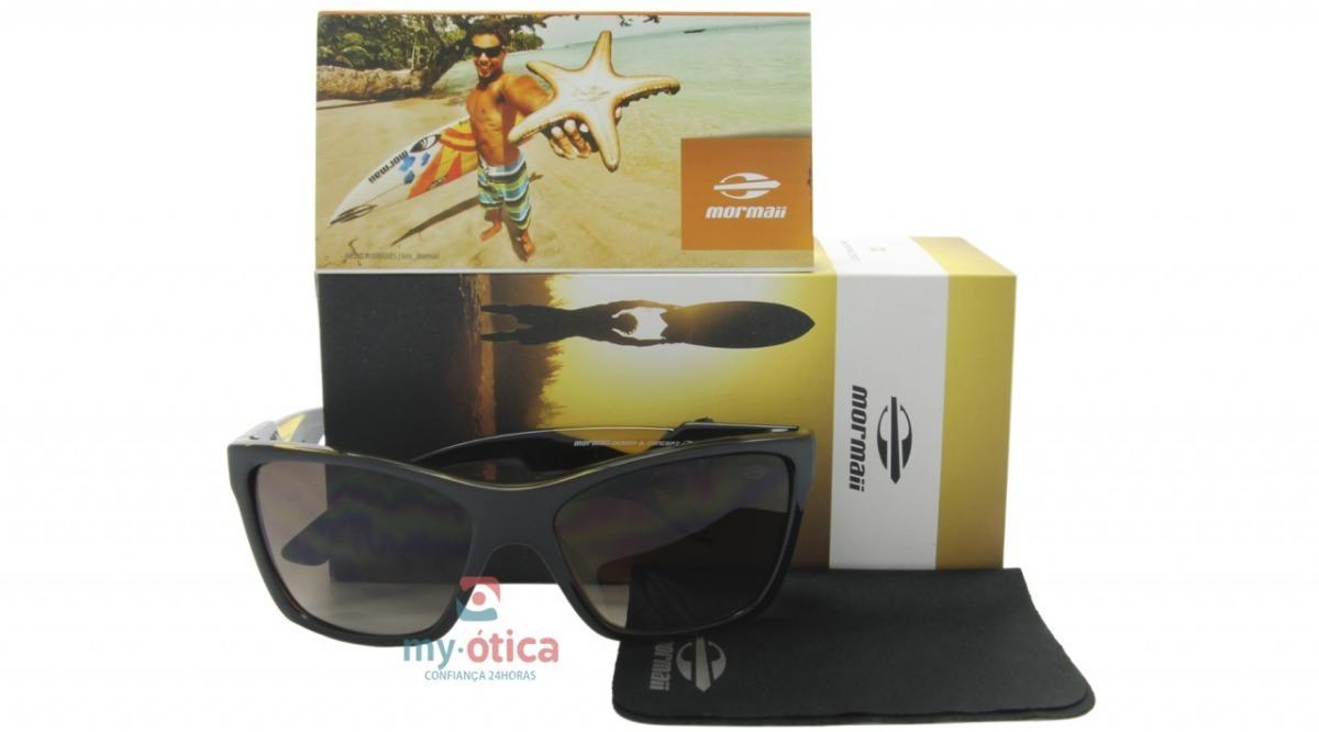 903964d298090 Óculos De Sol Mormaii Venice Beat - Preto E Amarelo Com Nfe - R  260 ...