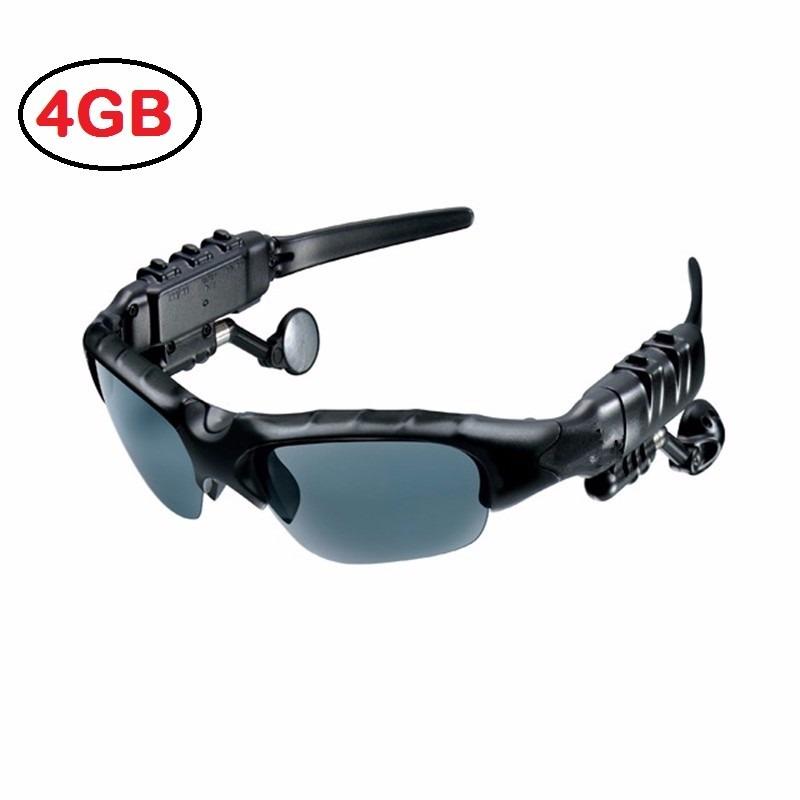Óculos De Sol Mp3 Player Bluetooth 4gb Fone De Ouvido - R  144,00 em ... 77123b0c3d