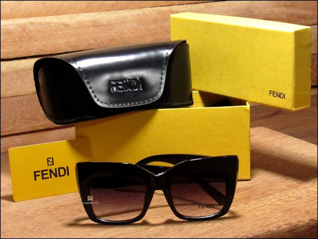óculos de sol new fendi facets importado já no brasil °0027°. Carregando  zoom. 6a7e972ecf