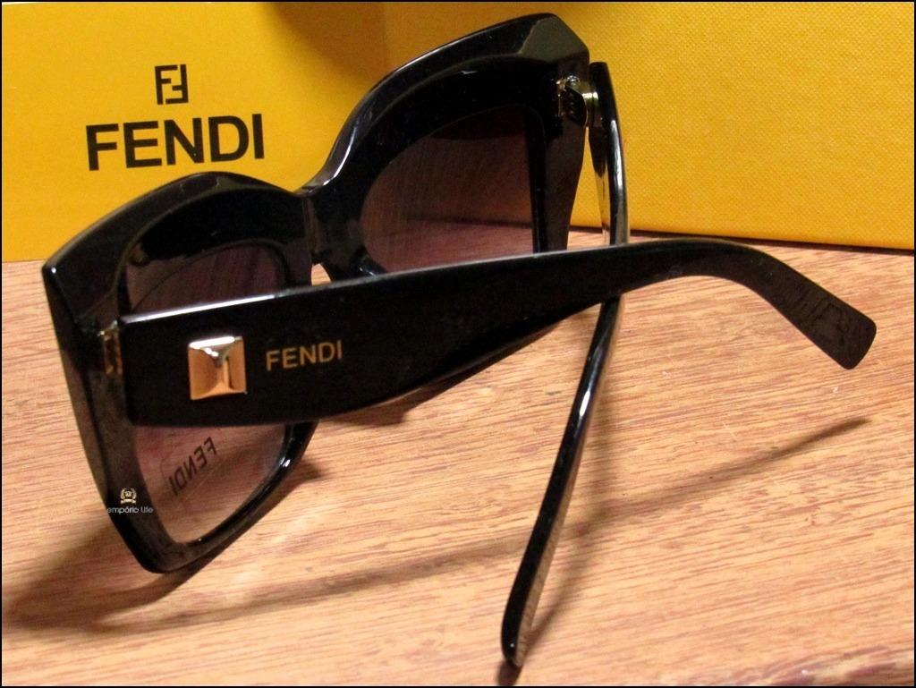 óculos de sol new fendi facets importado já no brasil °0047°. Carregando  zoom. f16d503243