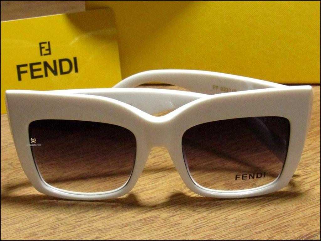 óculos de sol new fendi facets importado já no brasil °0307°. Carregando  zoom. efeaf72973