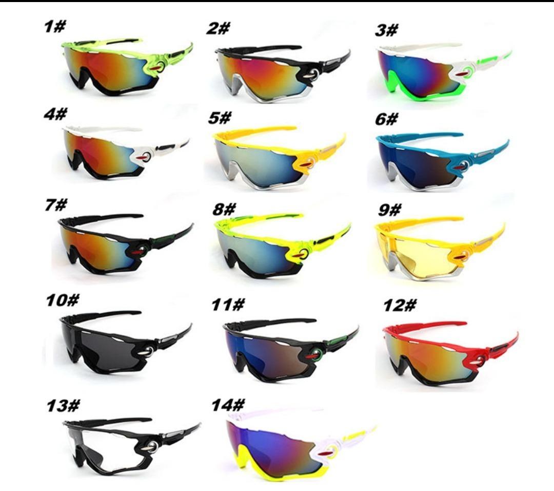 Óculos De Sol Noturno Ciclismo Bike Pedal Corrida Esportivo - R  35 ... f87f809628