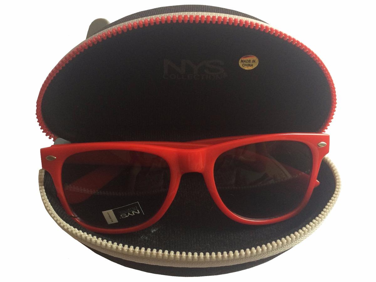 3742629520fb7 Óculos De Sol Nys Vermelho Importado - R  149,90 em Mercado Livre