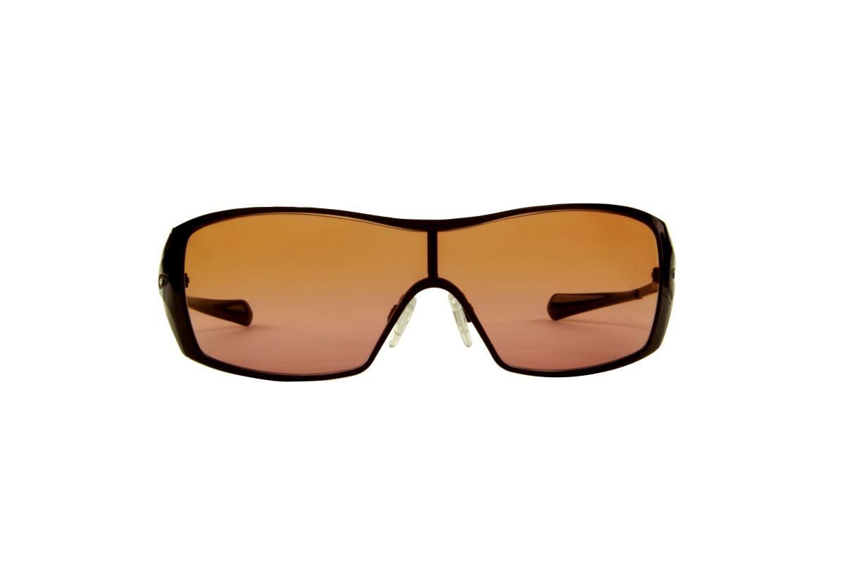 6543bb010 óculos de sol oakley 100% proteção uv ópticas melani marsala. 1 Foto