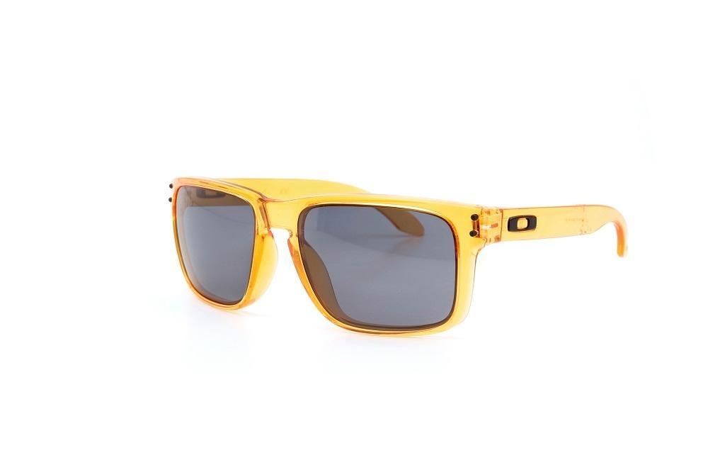 óculos de sol oakley armação acetato transparente laranja. Carregando zoom. 231c0184e5
