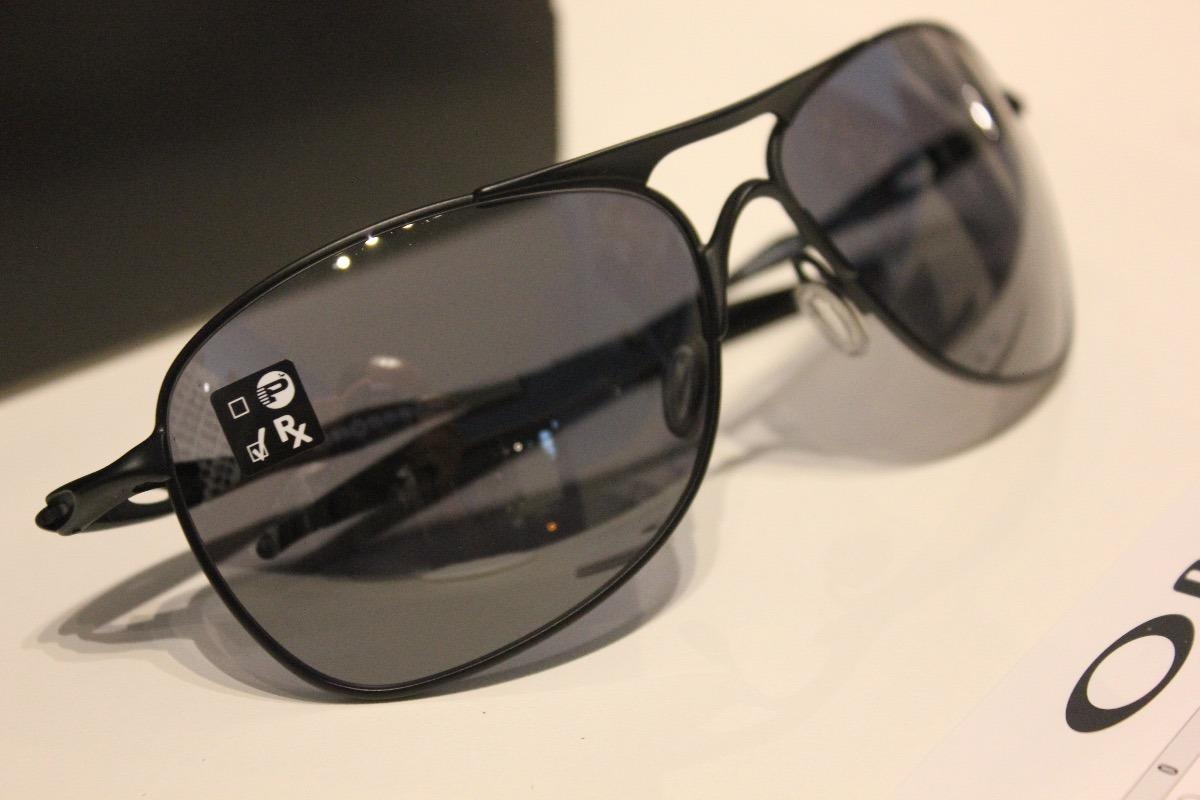 óculos de sol oakley crosshair titanio matte black iridium. Carregando zoom. 20d744846a