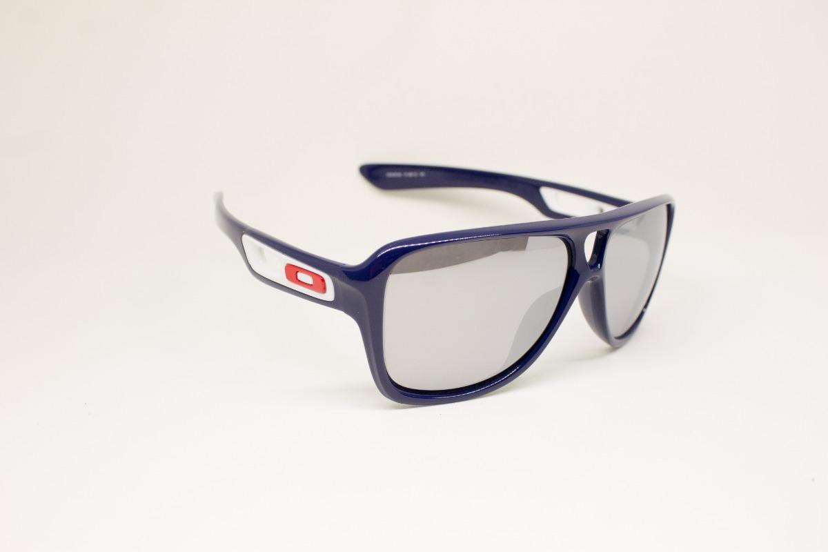 869fb44eb2f5c óculos de sol oakley dispatch 2 polished navy chrome iridium. Carregando  zoom.