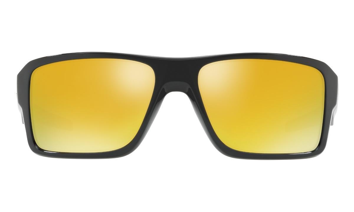 óculos de sol oakley double edge polished black 24k iridium. Carregando  zoom. 183d4d2c10
